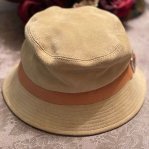Coach Suede leather Bucket Hat